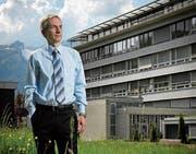 Urs Baumberger, der Direktor des Kantonsspitals Nidwalden. (Bild: Pius Amrein (Stans, 11. Mai 2012))