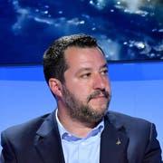 Matteo Salvini in Rom. (Bild: EPA/Ettore Ferrari, 20 Mai 2019)