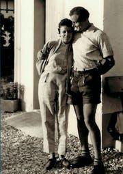 Hermann Bresch mit seiner Frau Helga kurz vor der Heirat. (Bild: PD)