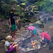 Insbesondere bei Feuer im Wald ist grosse Vorsicht geboten. (Bild: Stefan Kaiser)