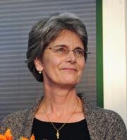 Die Autorin und Übersetzerin Christina Viragh (Bild: EPA/HENDRIK SCHMIDT)