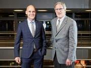 Peter Fries (links) und Jean Wey von der PKG. (Bild: PD)