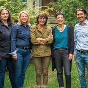 Der neue Vorstand (v.l.n.r): Zeljka Blank-Antakli, Esther Schiess, Dorena Raggenbass, Marzia Uhler und Heiko Monz. (Bild: PD)