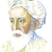 Der persische Dichter Omar Khayyâm in undatierter Darstellung.