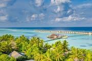 Blick auf das South Ari Atoll Resort auf den Malediven. (Bild: PD)