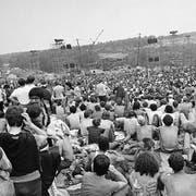 Fast eine halbe Million Menschen pilgerte vor 50 Jahren ans Woodstock-Festival. (Bild: Keystone)