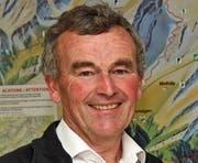 Korporationspräsident Walter Hug..