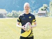 Coach Raphael Zanini führt am Samstag den «Rugbyclub Üri» aufs Spielfeld. (Bild: Philipp Zurfluh, Flüelen, 26. August 2018)
