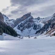 Der Seealpsee im Winter: Nicht nur schön, sondern auch gefährlich. (Leserbild: Luciano Pau)