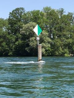 Das Seefahrtszeichen, eine sogenannte Wiffe, mit der Nummer 50 trägt den Namen Mörder. (Bild: Samuel Koch)