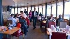 Ungezwungenes Ambiente, feine Küche: Im Restaurant Bellevue findet das «Pilatus z'Nacht» statt. (Bild: ar)