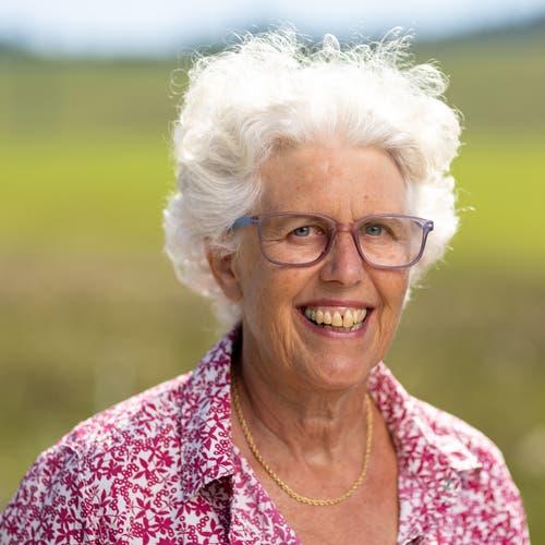 Ursula Keller, Schindellegi, Diplomierte Sozialarbeiterin FH, 1955. Motivation: «Ich plädiere für ein flexibles Rentenalter, eine Rente, von der man leben kann, vielfältige, bezahlbare Wohnformen, auch bei Pflegebedürftigkeit.»
