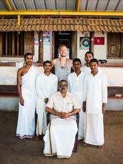 Yves Seeholzer in Indien.