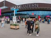 Die Zentralschweizer Start-up-Organisationen freuen sich auf interessierte Besucher im «Start-up Village» an der Luga 2019. (Bild: PD)