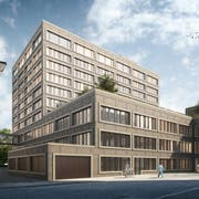 Visualisierung des neuen Ostschweizer Kinderspitals. (Visualisierung: PD)