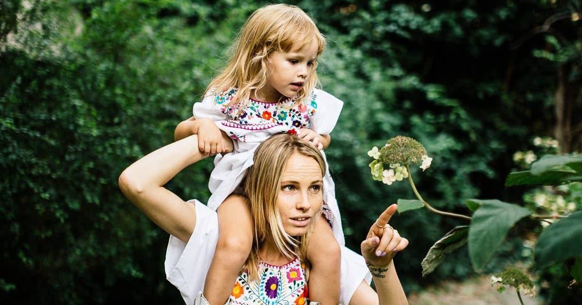 Kleiner grosser Luxus die Modeindustrie hat die Familie