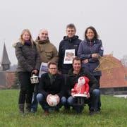 Die Kuspo-Vorstandsmitglieder mit Noch-Präsident Andreas Eberle vorne rechts. (Bild: PD)