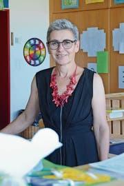 Ursula Gächter tritt am Freitag nach 40 Jahren als Primarlehrerin in den Ruhestand. (Bild: Corinne Hanselmann)