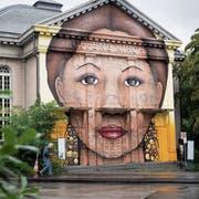 «Das Graffiti muss weg»: So entschied die städtische Baubewilligungskommission im April. (Bild: Ralph Ribi, 7. August 2019)