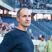 FCL-Trainer Thomas Häberli will den Aufwärtstrend nun auch in Resultaten spüren. (Bild: Martin Meienberger/Freshfocus, Luzern, 29. September 2019)