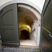 Hier geht es nach unten – und vielleicht bald nicht nur in einen Keller, sondern in einen Ausstellungsraum der besonderen Art. (Bild:PD)