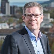 Der St.Galler Stadtplaner Florian Kessler. (Bild: Urs Bucher - 16. Oktober 2014)