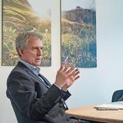 Geht es nach dem Willen der SVP Uri, sollen Bankratspräsident Heini Sommer und CEO Christoph Burgener bei der Urner Kantonalbank nicht mehr länger das Sagen haben. (Bild: Corinne Glanzmann, Altdorf, 18. Oktober 2018)