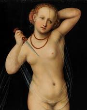 Lucas Cranachs «Lucretia». (Bild: Kunstmuseum Basel - Martin P. Bü)