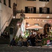 Die «Rathaus-Stube» in Lichtensteig hat im vergangenen Sommer Gäste bewirtet. Das Projekt wird nächstes Jahr in erweiterter Form fortgeführt. (Bild: PD)
