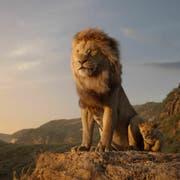 Mufasa und Simba in der Originalfassung von 1994. (Bild: Disney)