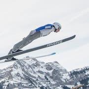 Simon Ammann kann fliegen. (Bild: KEYSTONE/Urs Flüeler, 27. Dezember 2018)