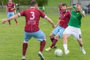 Der SC Brühl lieferte am Samstag gegen die AC Bellinzona im Paul-Grüninger-Stadion seine bisher wohl beste Teamleistung der laufenden Rückrunde der Promotion-League ab. (Bild: PD)