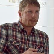 Christian Schmid, Präsident des Organisationskomitees, und das Bergrennen Hemberg blicken in eine ungewisse Zukunft. (Bild: Ruben Schönenberger)