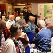 Die Eröffnung der Sonderausstellung stiess auf grosses Interesse (Markus Bösch)