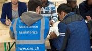 ORS betreibt in der Schweiz über 100 Flüchtlingsunterkünfte.Bild: Keystone (Bild: KEYSTONE)