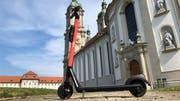 E-Scooter erobern nun St.Gallen.