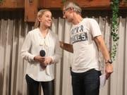Vivienne Steiner und Christoph Sutter boten beste Unterhaltung. (Bild: Markus Bösch)