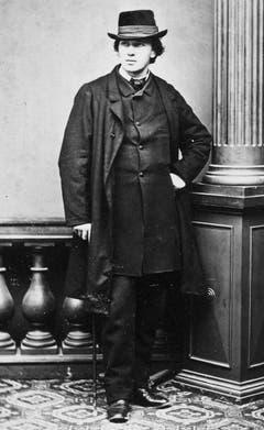 Porträt von Carl Spitteler aus dem Jahr 1865. (Bild: Nachlass Carl Spitteler, Schweizerisches Literaturarchiv, Bern)