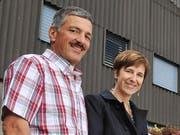 Gehörten bis Mitte 2017 dem Wikoner Gemeinderat an und prüfen nun eine Rückkehr: Roger Wymann und Esther Ammann Wilsch. (Bild: Corinne Glanzmann, 6. Mai 2012)