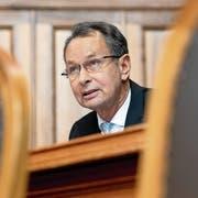 Ehemaliger FDP-Präsident und heutiger Aargauer Ständerat: Philipp Müller.Bild: Anthony Anex/Keystone (Bern, 29. November 2018)