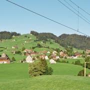 Am Beispiel des Bühls wird sichtbar: Die äusserste Häuserzeile legt den Rand des Siedlungsgebiets fest und grenzt dieses klar ab. (Bild: Sabine Camedda)