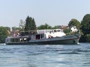 Ein Kursschiff der Schifffahrtsgesellschaft Untersee und Rhein. (Bild: PD)