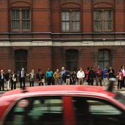 Pendler warten in Washington auf eine Mitfahrgelegenheit in Richtung Agglomeration. (Bild: The Washington Post/Getty Images)