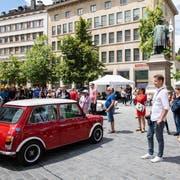 Was ist im öffentlichen Raum in St.Gallen möglich und was nicht? Unter anderem die Oldtimer-Rallye im vergangenen Juni gab zu Diskussionen Anlass. (Bild: pd)