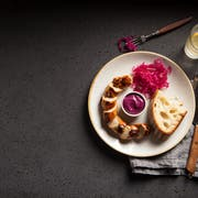 Ein Londoner Wurst-Restaurant bietet die St.Galler Olma-Bratwurst an. (Bild: zvg)