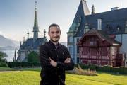 Demian Herguedas kümmert sich zukünftig um das Schloss Meggenhorn. (Bild: Nadia Schärli (Meggen, 19. September 2018))