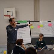 Das Wittenbacher Forum Ende April. (Bild: Johannes Wey)