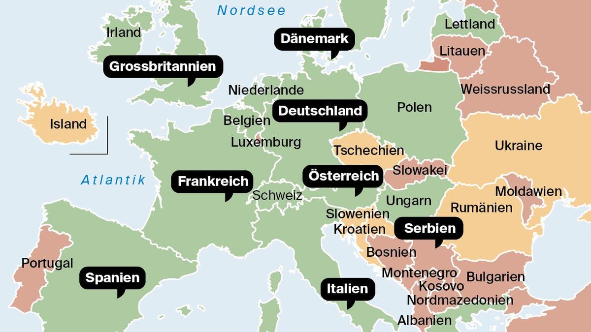 Europa steht wieder auf der Kippe: Besonders eine Region droht, zum neuen Virenherd zu werden | St.Galler Tagblatt