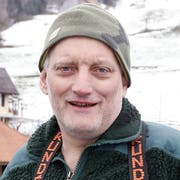 Hanspeter Merz, Berufsfischer auf dem Ägerisee.