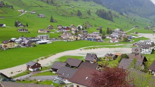 Die Thur in Alt St.Johann. (Bild: TVO/Tobias Lenherr)